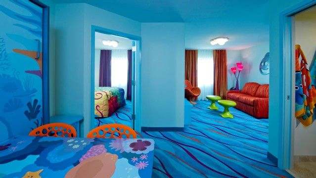 Check out the Art of Animation Nemo Suite! So cute!  Exploring Domesticity: Resorts on a Budget