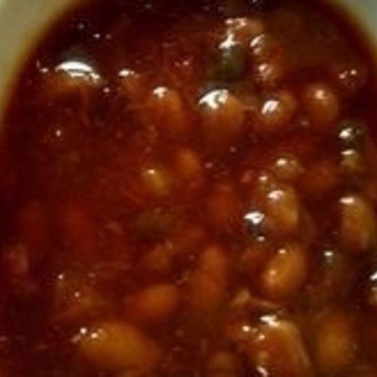 Jack Daniels Bourbon Molasses Baked Beans