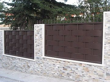 17 best images about vallas on pinterest colors search for Valla metalica jardin