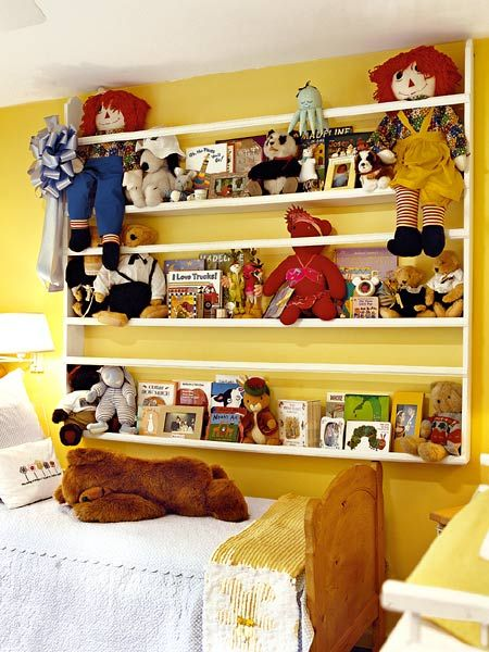 place for books: Diy Ideas, Sewing Room, Home Kids Bedrooms, Book Toy Shelf, Plate Racks, House Ideas, Kids Rooms