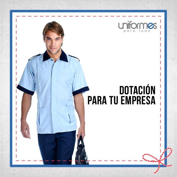 Dale una cara distinta a tu empresa con una nueva dotación. #UniformesParaTodo   www.uniformesparatodo.com