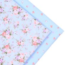 2016New 2pic/lot 40*50 cm tela de algodón tecidos algodao párr patchwork costura Almohada vestido de tejido DIY Muñeca colchas de tela de tela w03(China (Mainland))