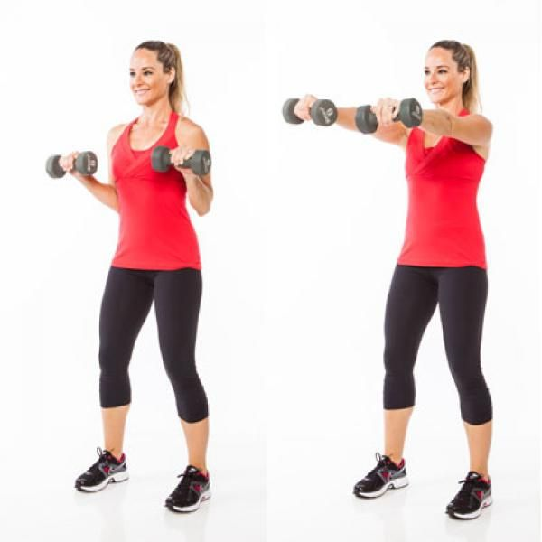 Sculpting 5-Minute Arms Workout with Dumbbells - 5-Minute Arms Workout with Dumbbells - Shape Magazine