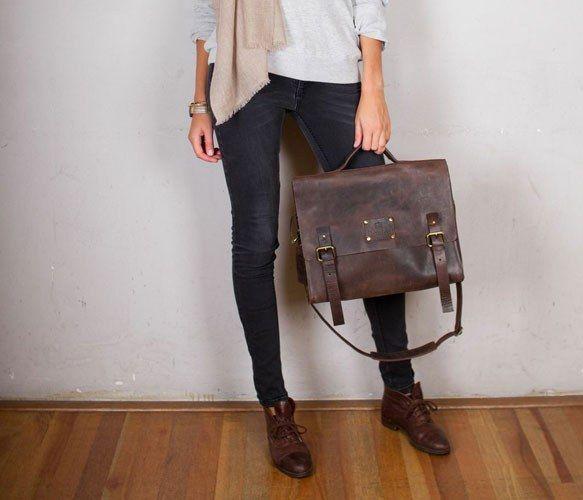 Dirty Harry Dark Brown Bag