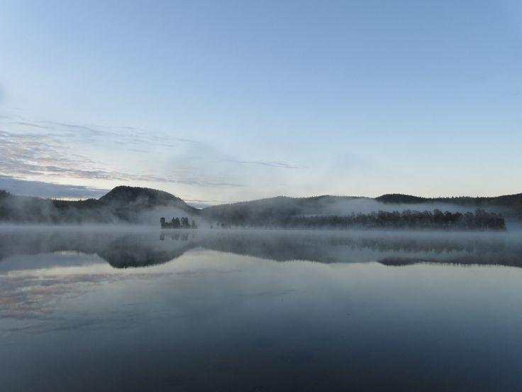 Lake Purnujärvi near Ruka, Kuusamo Finland