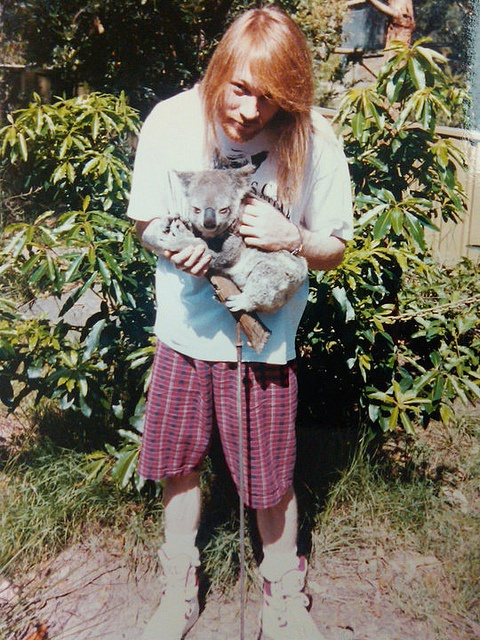 axl rose when he was young