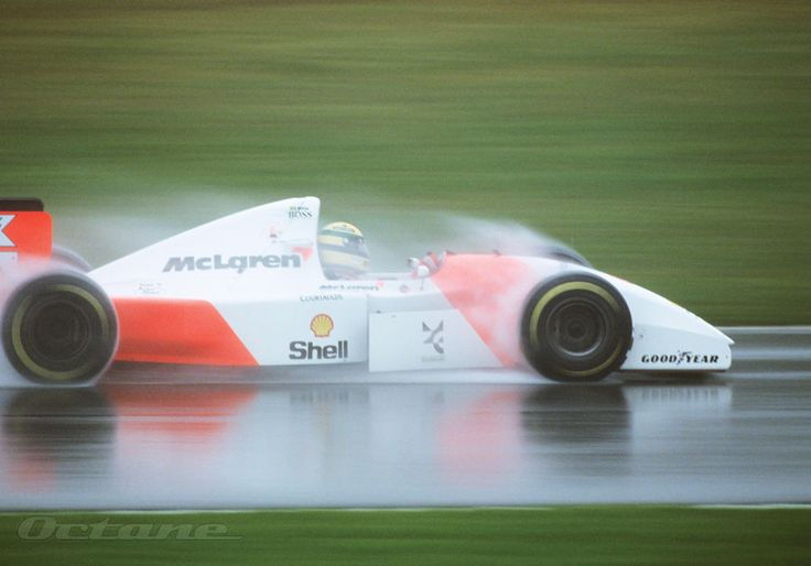 Many know of Ayrton Senna's great mastery of driving Formula 1 cars extremely well and flamboyantly in the wet. The truth was that Ayrton was terrible in the rain when he was younger. He would win every competition or race in the dry, but when it...