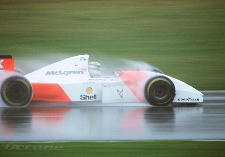 Senna in the rain .. The best!