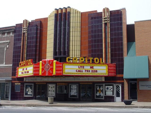 Old Capitol theater Burlington, Iowa