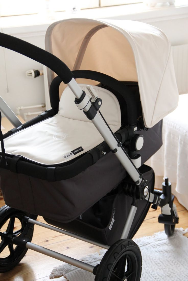 Bugaboo Cameleon - Dark Grey and Off White. Love the neutral colours of this - but if I've heard right, it's very pricey! Damn me and my expensive taste!