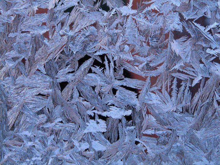 Frost Patterns On Window 1 by Victor Kovchin
