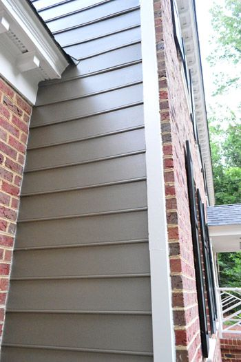 Picking A New Siding Color To Work With Our Brick Exterior (& Crisping Up…