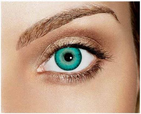 Caribbean Aqua Non Prescription Colored Contacts