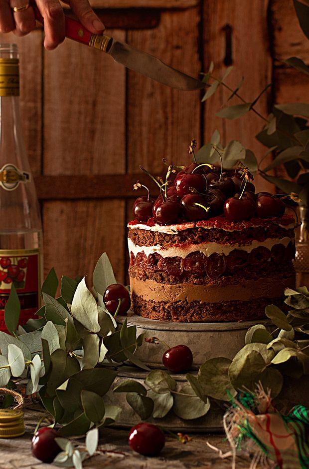 Tarta Selva Negra. Receta Perfecta Sophie bakery