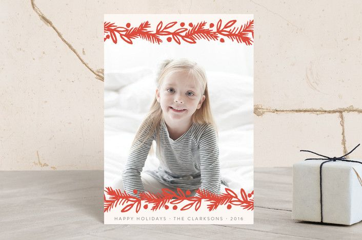 Merry Pine Frame by Katharine Watson at minted.com