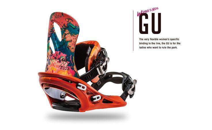 GU | flux-bindings.com | Flux Snowboard Bindings