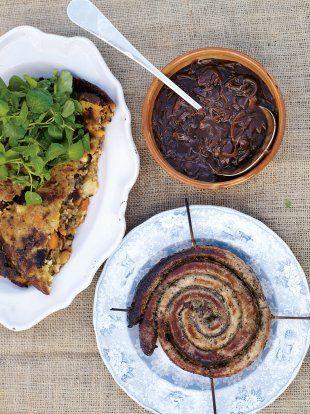 Sausages & bubble & Squeak   Pork Recipes   Jamie Oliver Recipes