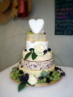 Late summer fruits wedding cake (serves 120-150 people) - Liverpool Cheese Company Ltd.