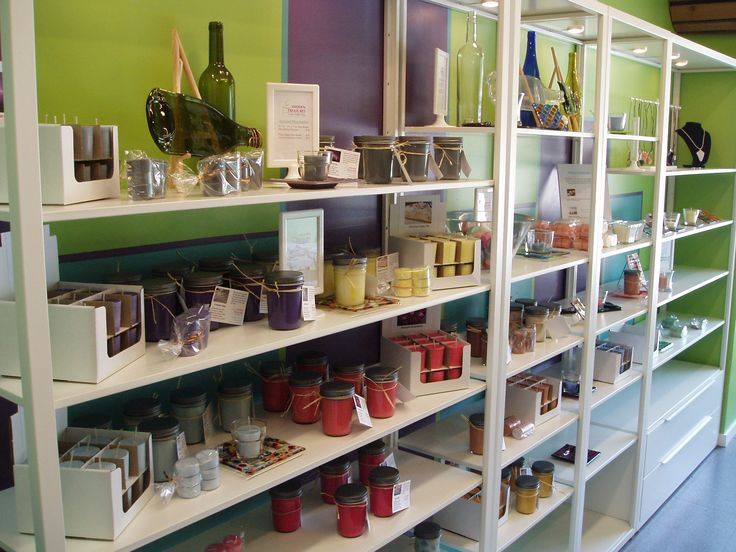 "Too bad there isn't a ""smell app!""  These candles smell divine! Handmade Candles, Soap and Drop-in Glass Studio on Osborne Street Winnipeg."
