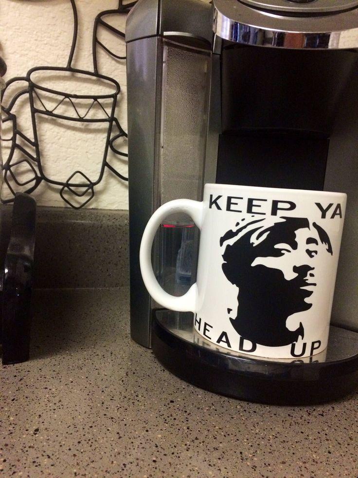 Tupac, mug, coffee, tea, 90s rap, wife, thug wife, wifelife, 2pac, song, lyrics, rap, hip hop,