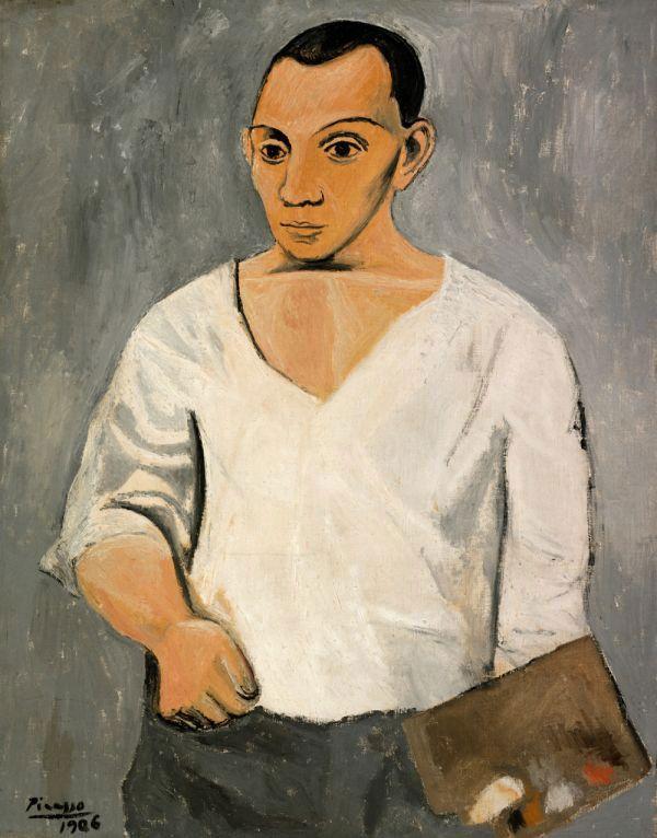 Autoportrait à la palette - Pablo Picasso