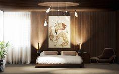 Moderne und luxuriöse Luxusbetten! Innenarchitektur und Einrichtungsinspiration!