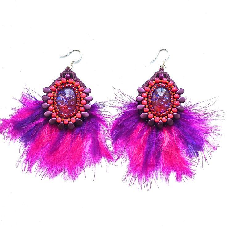 BOHO earrings by lovelili.cz