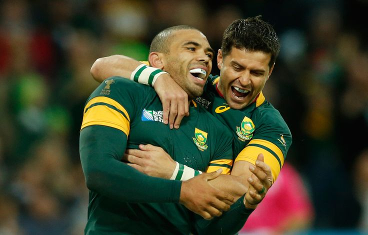 South African Springbok Glory: Not only do we have an amazing few games to look forward to as a country, but we can also see one of our country's rugby stalwarts, winger Bryan Habana, on his road to becoming the leader World Cup try scorer. His hatrick against the USA sees him level with New Zealand's Jonah Lomu as the highest try scorer in World Cup history. Records will be broken if Habana continues in this form and scores well in the Springboks road to World Cup 2015 glory!
