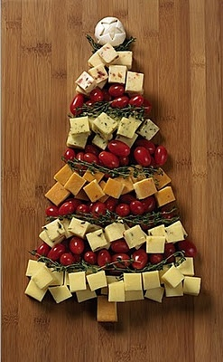 Great cheeseboard idea for holiday time :)