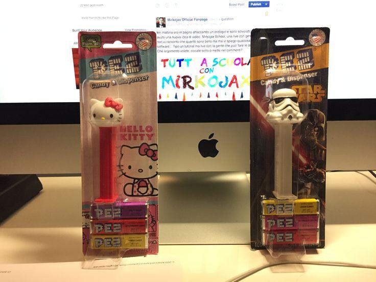 Partecipa al concorso e vinci una distributore di caramelle americano PEZ