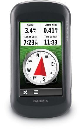Garmin Montana 650t GPS
