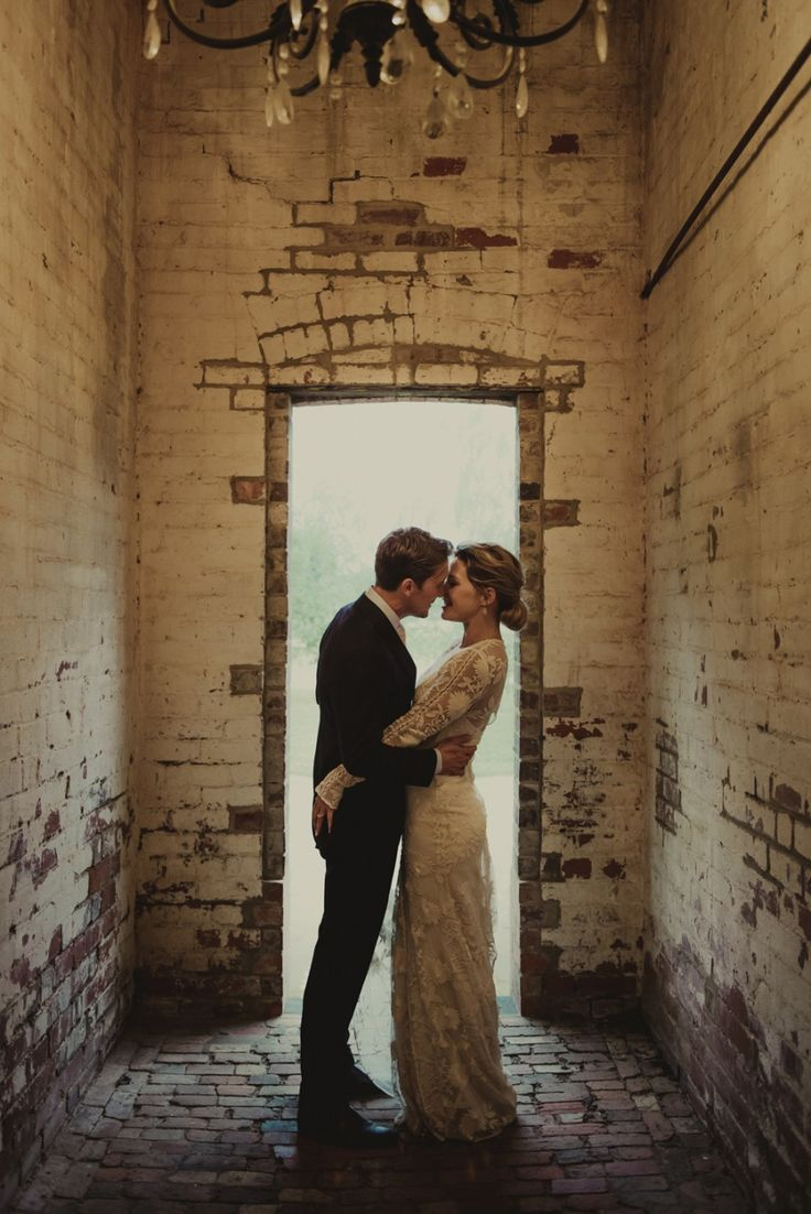 What a romantic setting... Stones of the Yarra Valley wedding