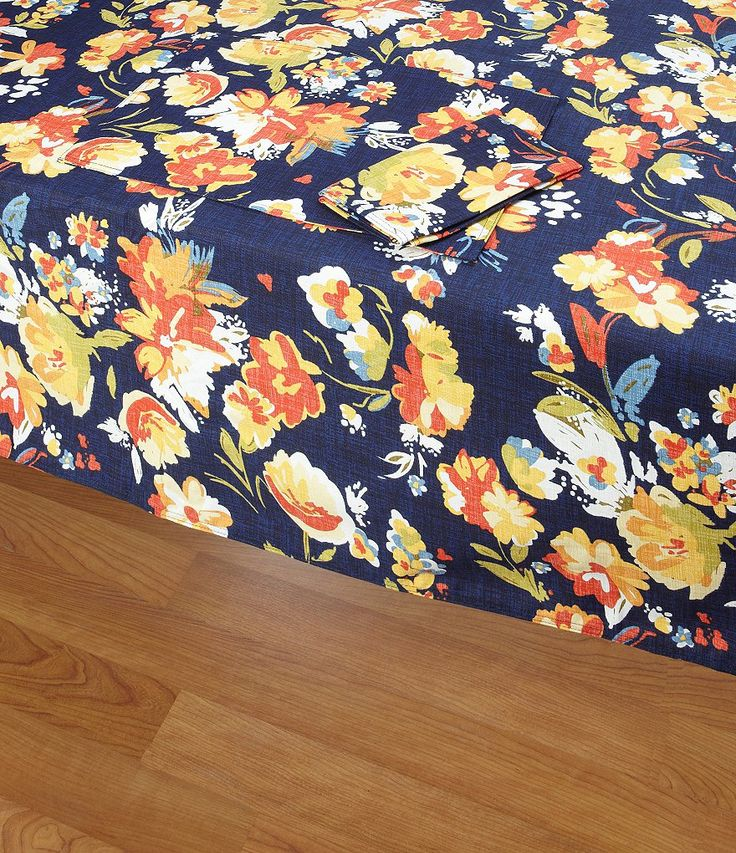 Fiesta Arabella Table Linen Collection    This Calls For Bright Yellow  Sunflower, Poppy And