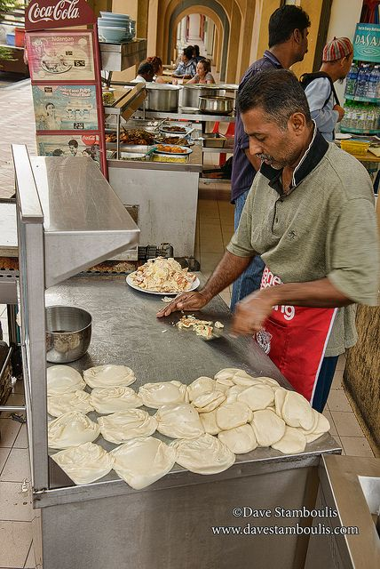 roti vendor in Little India, Georgetown, Penang, Malaysia | Flickr - Photo Sharing!