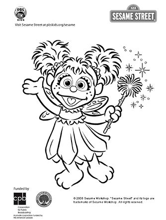 100 ideas to try about coloring pages homemade costumes for Sesame street abby coloring pages