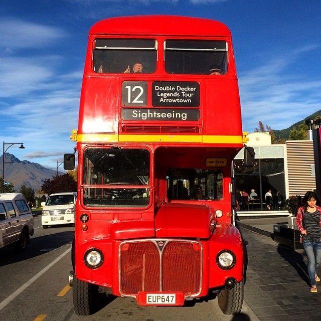 The double decker @ Queenstown, New Zealand
