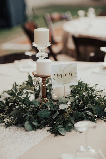 Using Lanterns Centerpieces Table Settings