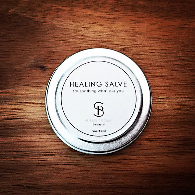 Healing Salve can be used as a treatment for a myriad of aliments such as acne, rosacea, eczema, cold sores, cuts, scrapes, bug bites, rashes, dermatitis, fungal infections, bruises, chafed skin, burns, scars-you name it. The alchemic blend of ingredients in this product additionally help to quell s #EczemaRash #eczemaskinrash