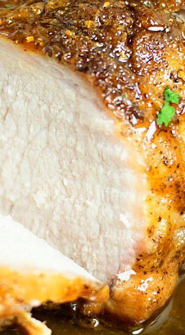 Maple Glazed Pork Loin Roast