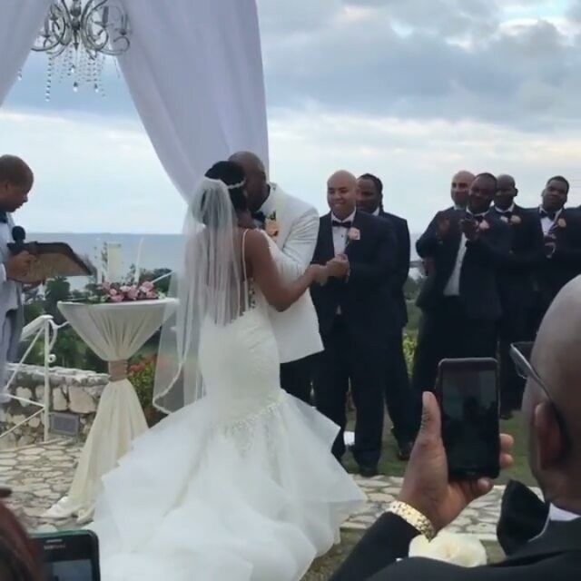 Wow! See This Couple's Breathtaking Wedding Photos + The Cutest First Kiss - Wedding Digest Naija