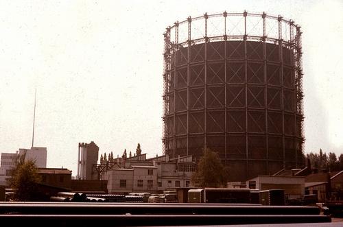 Schöneberg Gasometer, 1980s