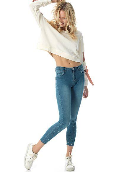Skinny τζιν.  #jeans #stylish #fashion #fashionable #girly #ootd
