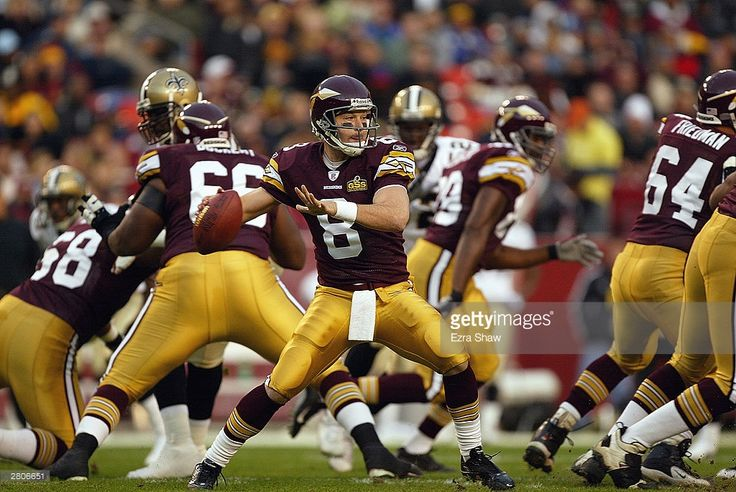Washington Redskins QB  #8 Tim Hasselbeck (2003-2004)