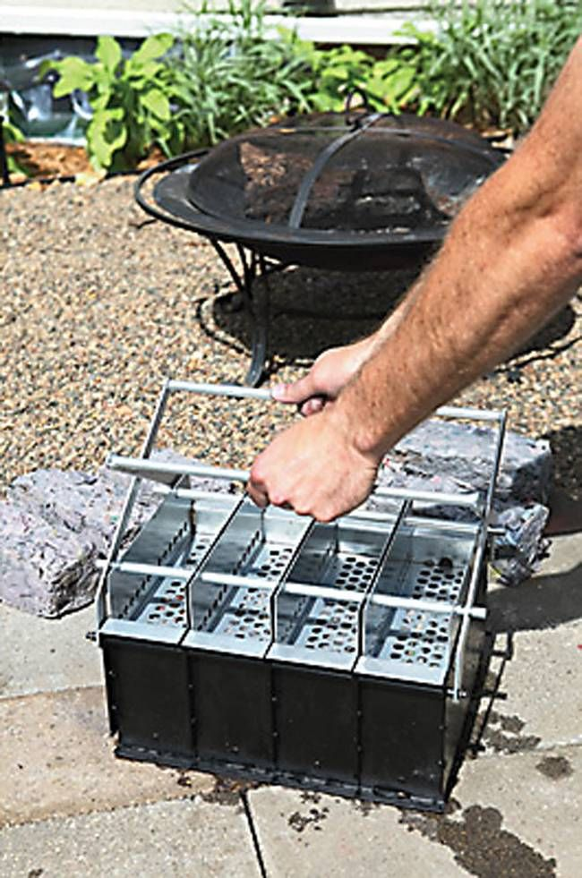 How to make your own DIY fire logs out of recycled newspaper (Video)…