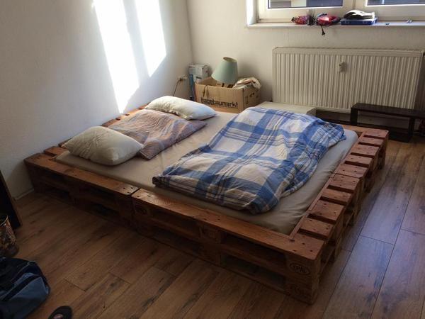 Verkauft Europaletten Bett Foto Bild 98512580 (600×