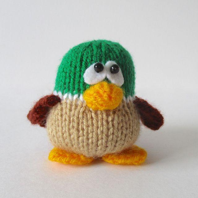 47 Best Ducks Images On Pinterest Knit Crochet Knitting Patterns