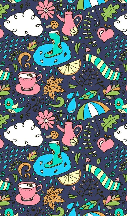 Картинка с тегом «art, blue, and kawaii»
