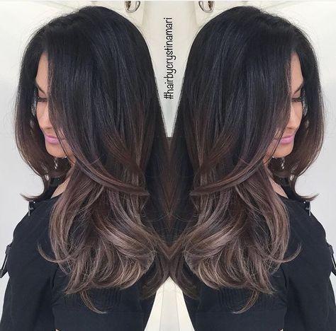 Dark brown hair with gray highlights choice image hair extension gray highlights on dark brown hair the best hair 2017 8 best gray images on hairstyles pmusecretfo Gallery