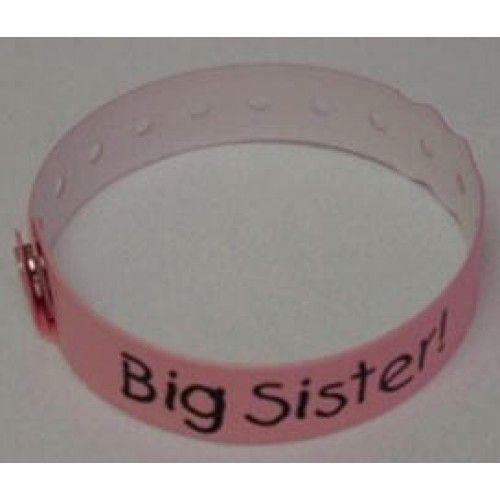 Big Sister Hospital Bracelet