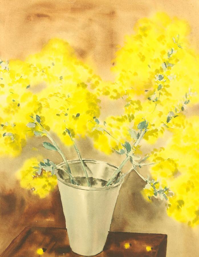 Rafał Malczewski: Kwiaty w wazonie